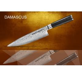 Нож кухонный стальной Шеф Samura Damascus SD-0085/16