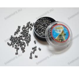 Пули пневматические Шмель 4,5 мм 0,8 грамма (400 шт.) магнум, округлая